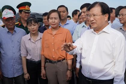 Giải phóng mặt bằng sân bay Long Thành gặp khó khăn