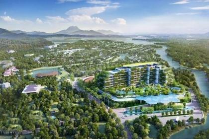 """Flamingo Đại Lải Resort: """"Mua biệt thự tặng vườn xanh"""""""