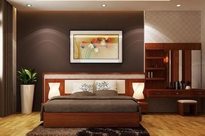 Những lưu ý khi thiết kế, bài trí phòng ngủ cho người già