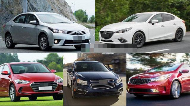 Xe hơi nhập về Việt Nam ngày càng tập trung vào các dòng giá rẻ