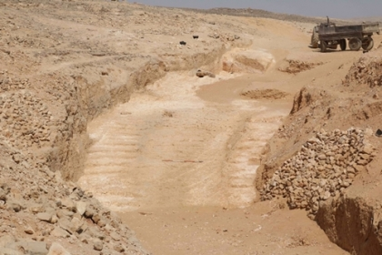 Phát hiện đường dốc nghi được dùng để xây Đại kim tự tháp