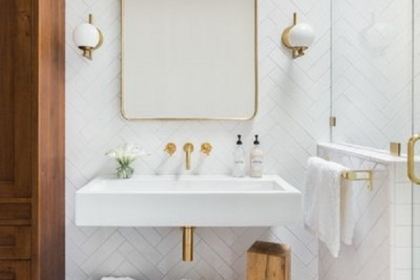 Cách thiết kế đèn cho Vanity trong phòng tắm