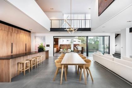 10 phòng ăn có không gian mở tuyệt đẹp
