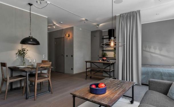 Lạ mắt với thiết kế căn hộ 45m2 cực chất