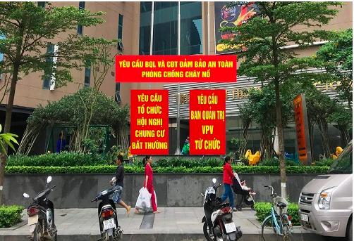 Nhiều chung cư ở Hà Nội có tranh chấp, khiếu kiện. Ảnh: Hoài Thu.
